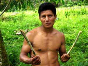 José Caiza1 con pasto de maralfalfa(hibrido rico en prots)